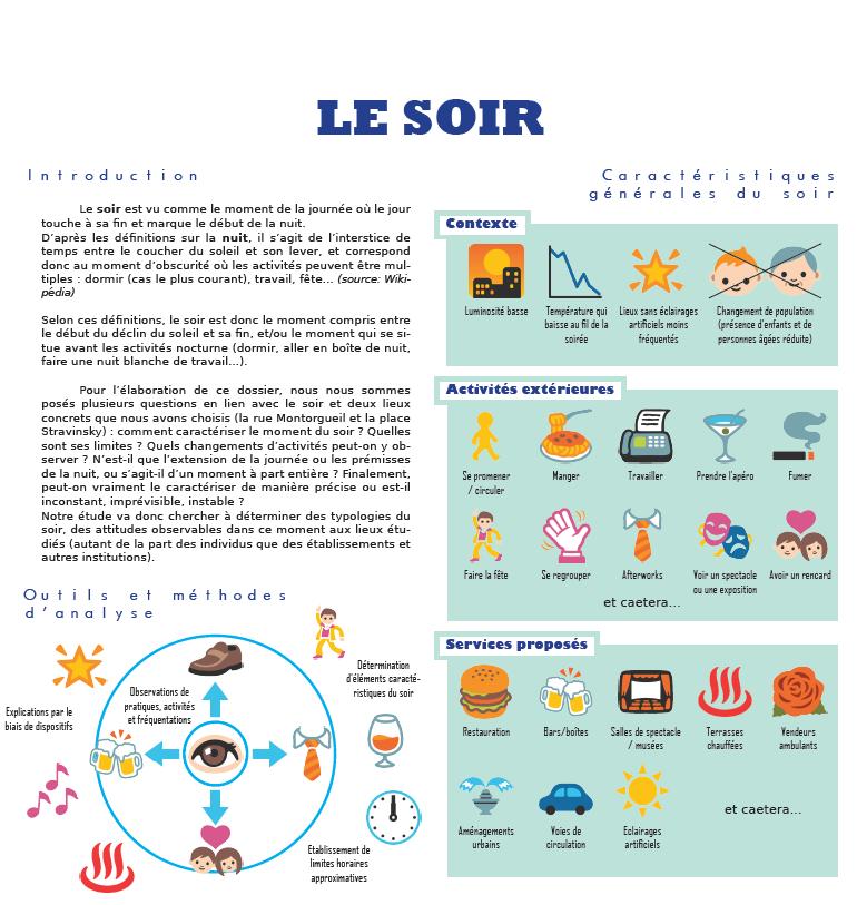 Planche de sociologie utilisant des emojis pour illustrer les propos