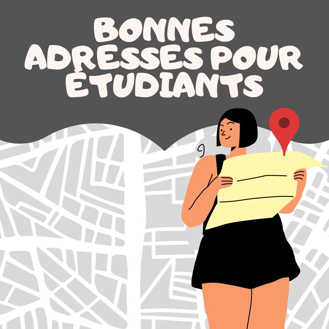 🗺️ CARTE – Bonnes adresses pour étudiants en architecture